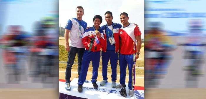 Daniel Caluag of Philippines Wins Gold 2014 Asian Games