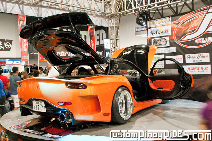 VEILSIDE FORTUNE MAZDA RX-7 TOKYO DRIFT JSK Manila Auto Salon Custom Pinoy Rides Philip Aragones pic3