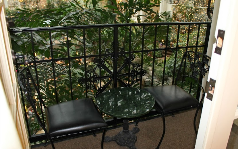 Balcony Facing the Cascades Atrium at the Gaylord Opryland