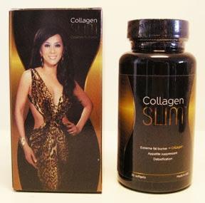 Collagen slim giảm cân và  giữ làn da căng mịn