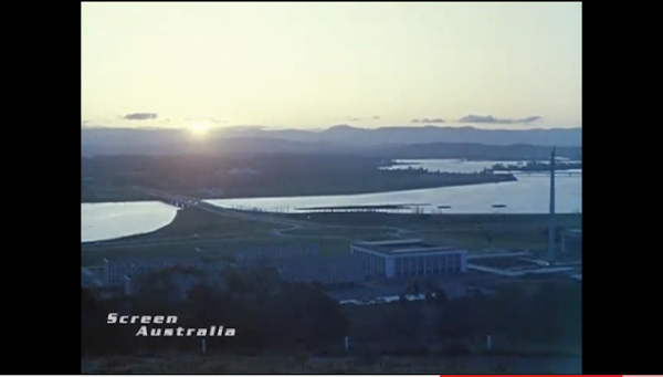 lake burley griffin circa 1964