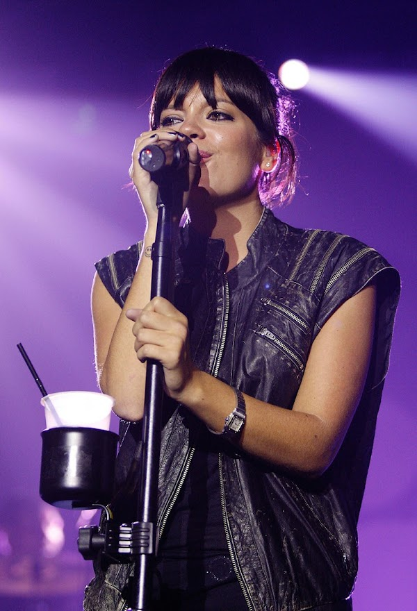 Lily Allen – concert at the Hordern Pavilion in Sydney:celebrities0