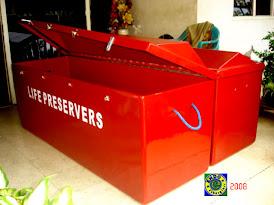 life jacket box fiberglass