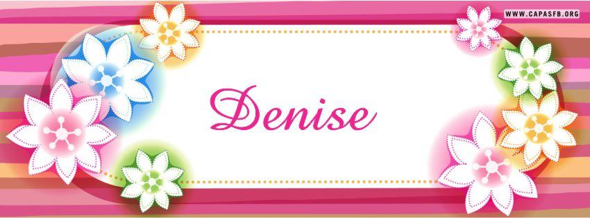 Capas para Facebook Denise
