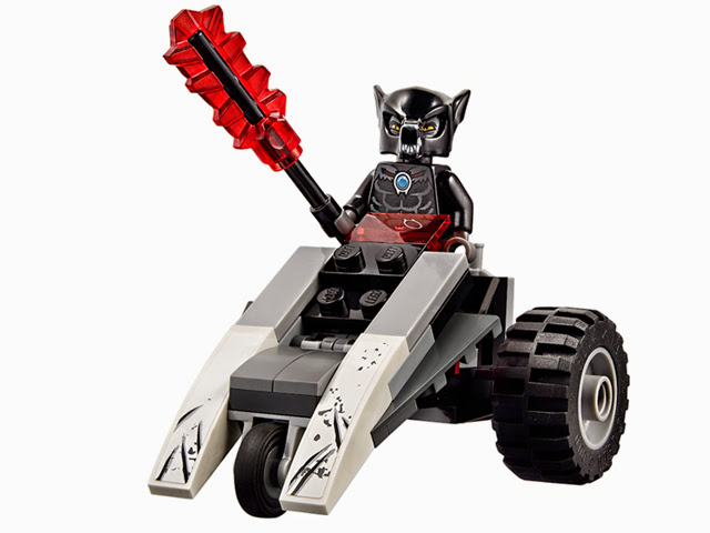 レゴ チーマ ウォリズのコンバット・レアー 70009