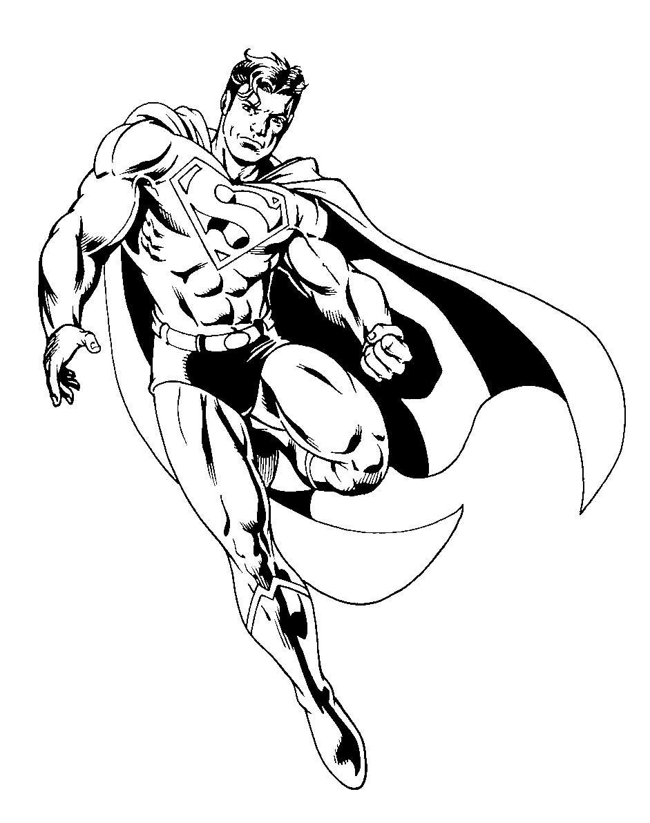 Superman Coloring Sheets Pdf   Batman coloring pages, Superhero coloring  pages, Superman coloring pages   1192x941