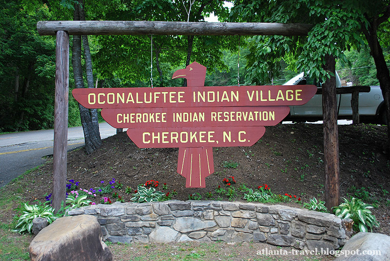 Cherokee Indians Reservation