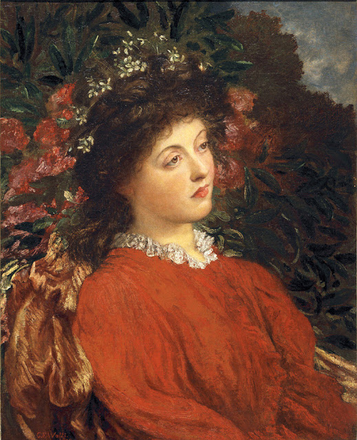 George Frederick Watts - Portrait of Eveleen Tennant, 1869