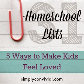 How to show kids love
