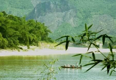 ảnh con sông quê hương