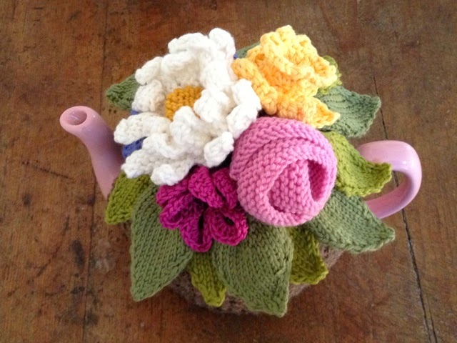 John Lewis Flowers Fairislerona knit a flower basket tea cosy john lewis sheffield i shall be running a flower basket tea cosy workshop john lewis sheffield on wednesday april 22nd and at the moment there are places available sisterspd