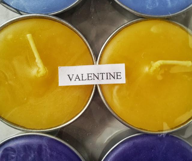 """Duftkerze mit """"Valentine"""" Geschmack"""
