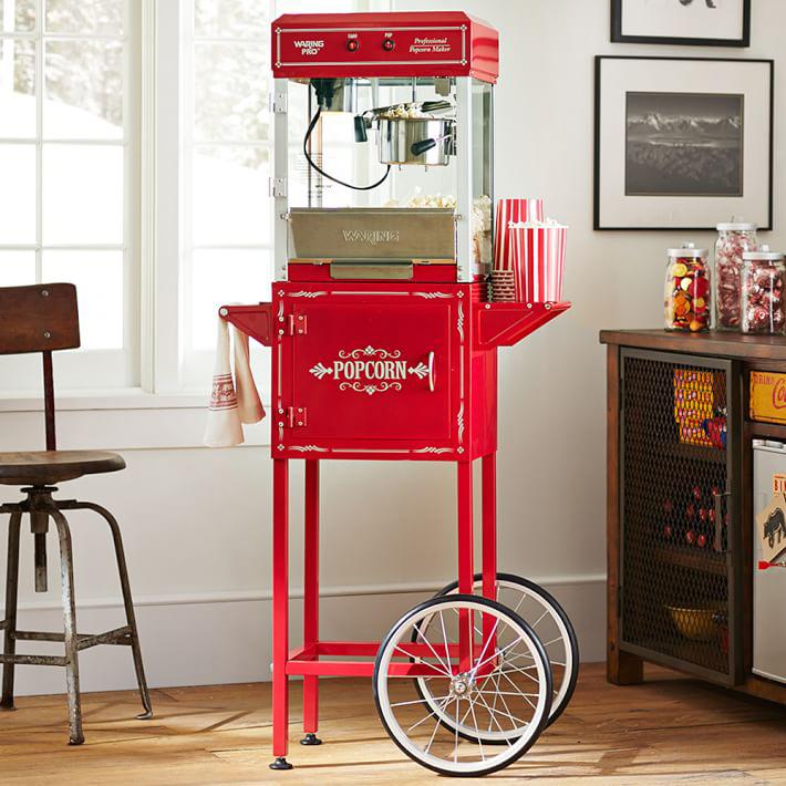Máquina de hacer palomitas vintage