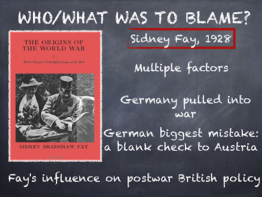 who was to blame for ww1 Saul david investigates the monarchs and politicians most at blame  first  world war: who was to blame  george v's wwi demands.