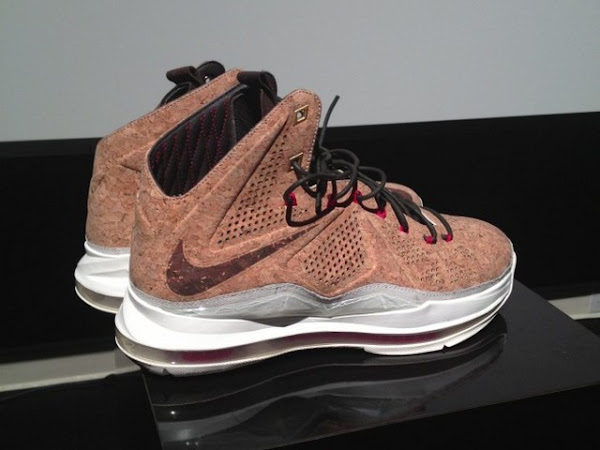 Nike LeBron X NSW Cork Has Been Put on a Display