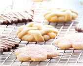 Chocolate Sugar Cookies, Fancy Sugar Cookies, and Crisp Sugar Cookies