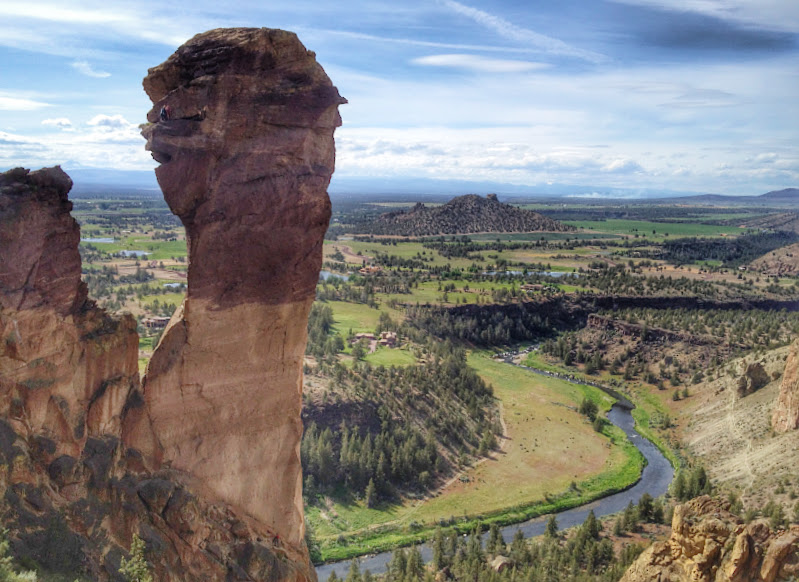 The Monkey Face in Smith Rock