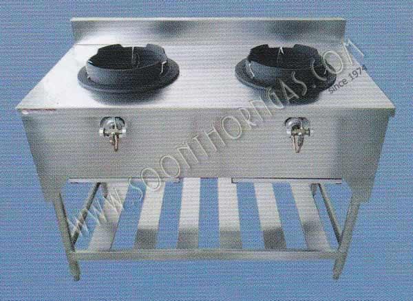 เตาครัวไทย KB5 2 หัว Model. ST-GH202