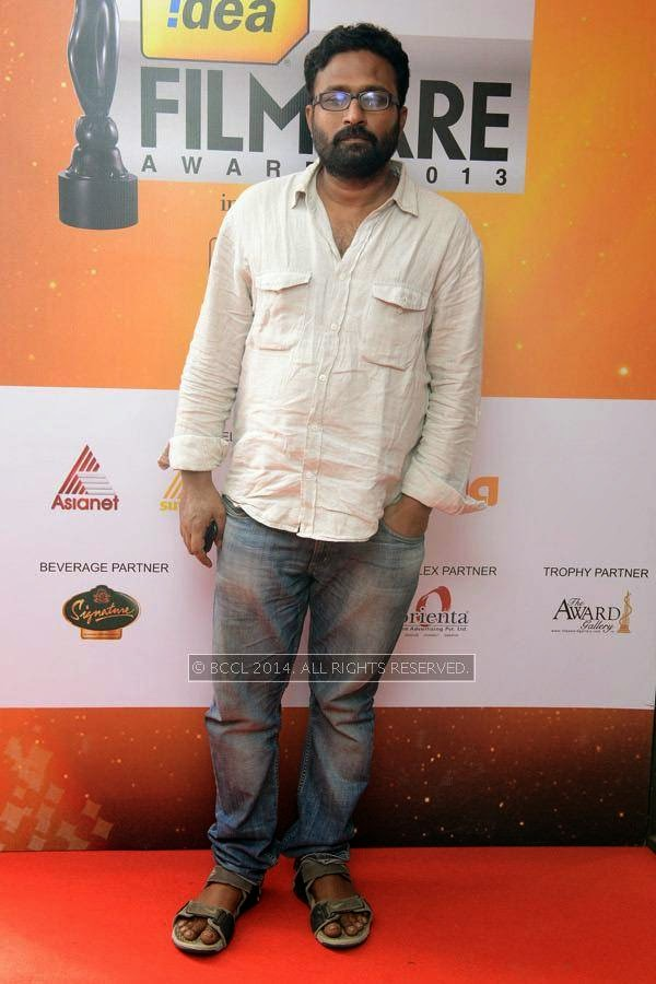 Director Ram during the 61st Idea Filmfare Awards South, held at Jawaharlal Nehru Stadium in Chennai, on July 12, 2014.