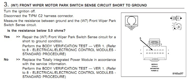 On The Connector C2 I Should Check Voltage 2007 Dodge Caliber Rear Wiper Wiring Diagram: 2007 Dodge Wiper Motor Wiring Diagram At Satuska.co