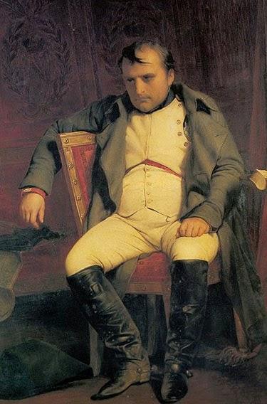 Наполеон после отречения