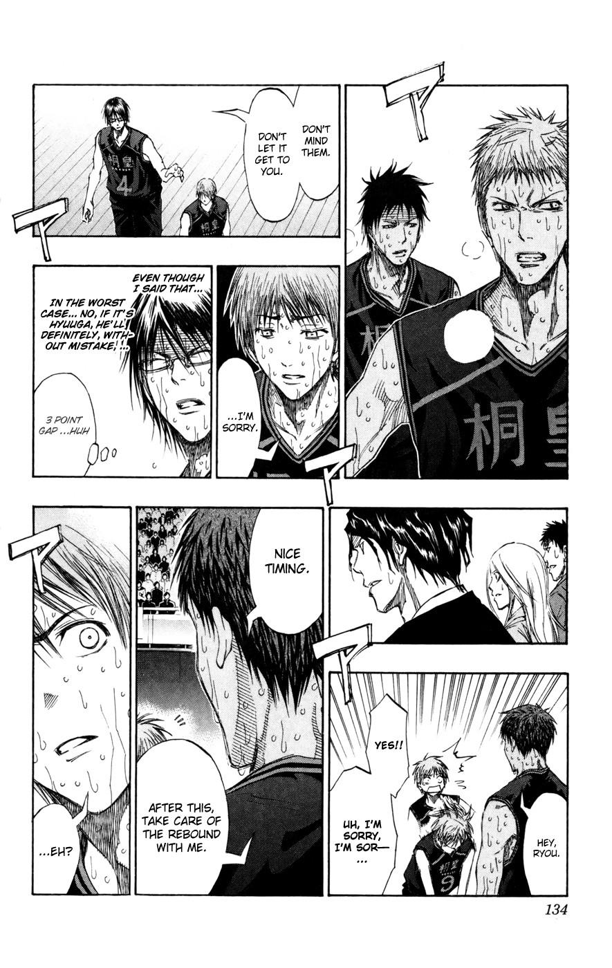 Kuroko no Basket Manga Chapter 133 - Image 06