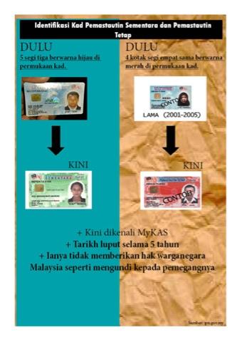 Inisemuapoyo Jpn Tidak Pernah Keluarkan Kad Pengenalan Pemastautin Sementara Untuk Warga Asing Pru13 Tolakpr Ge13