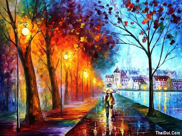 thơ mưa buồn mùa Thu