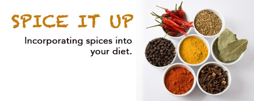 Incorporating spices into your diet.