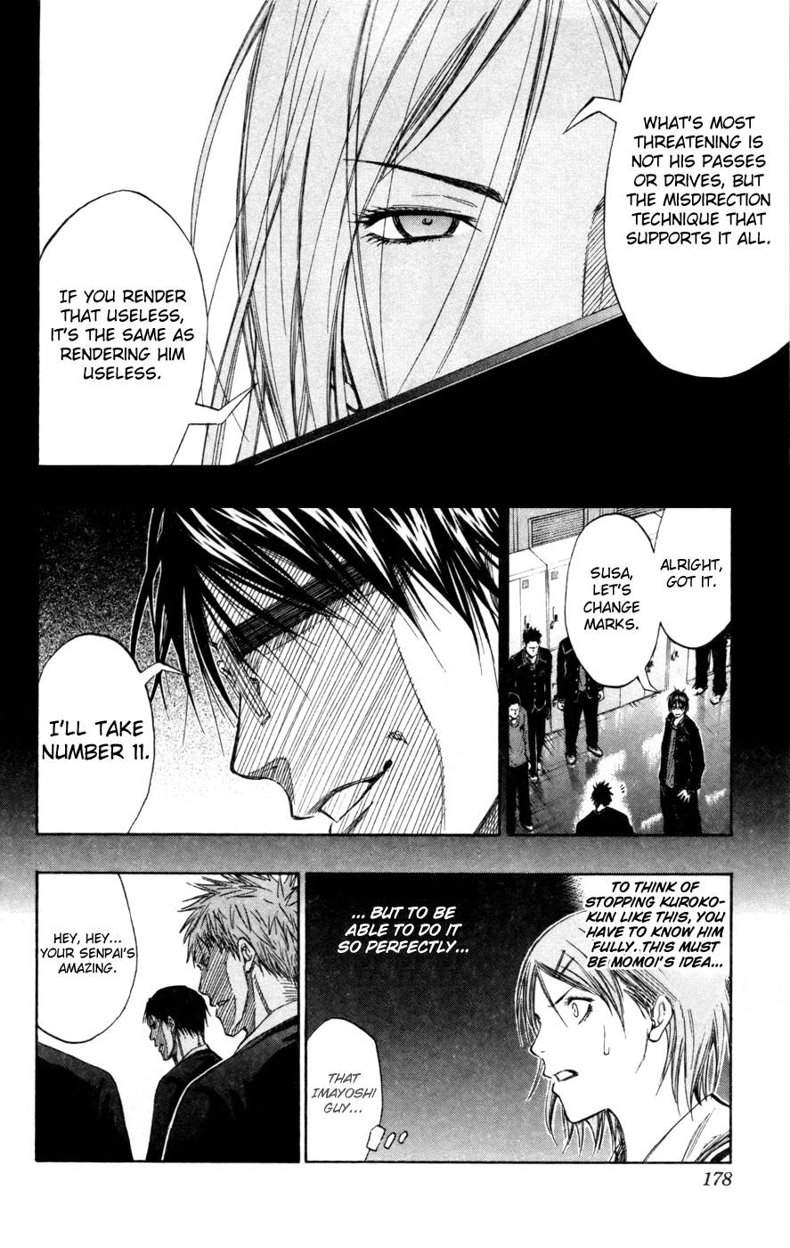 Kuroko no Basket Manga Chapter 126 - Image 14