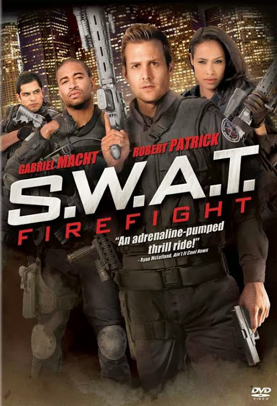 Poster Of S.W.A.T. Firefight (2011) Full Movie Hindi Dubbed Free Download Watch Online At Alldownloads4u.Com