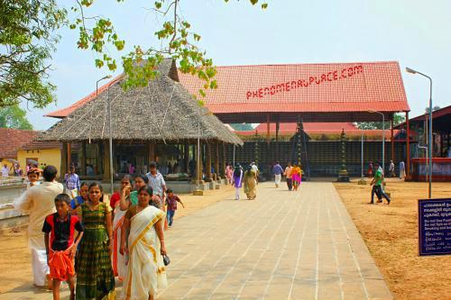 Ambalappuzha Sri Krishna Temple Kerala India