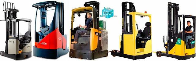 Cho thuê xe nâng reach truck tầm cao - 0909551539 free 3 tháng - 287135