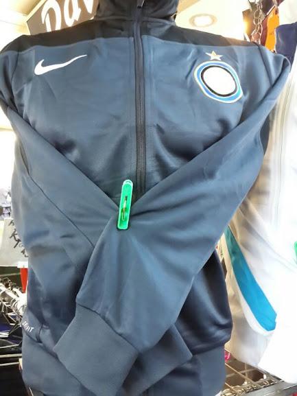 Jaket Inter Milan Hitam Biru Terbaru 2014