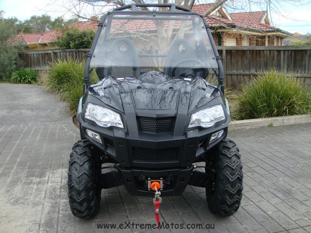 800cc Strike Hisun PQV-800 XUV Farm Sports UTV Black2