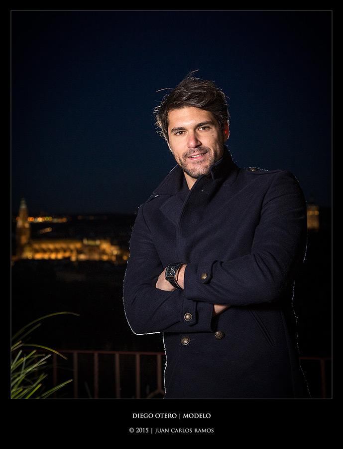 Diego Otero, modelo por Juan Carlos Ramos fotógrafo toledo