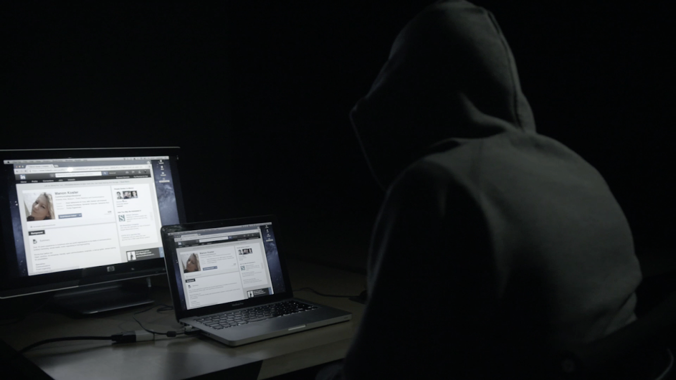BBDO Belgium uses the creepy side of LinkedIn to launch 'Stalker' on Vier