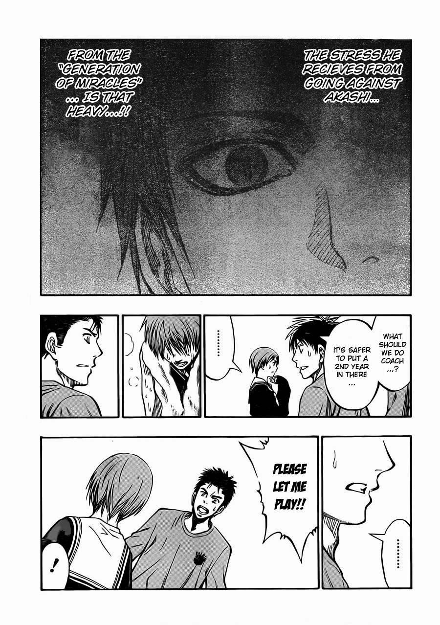 Kuroko no Basket Manga Chapter 241 - Image 14