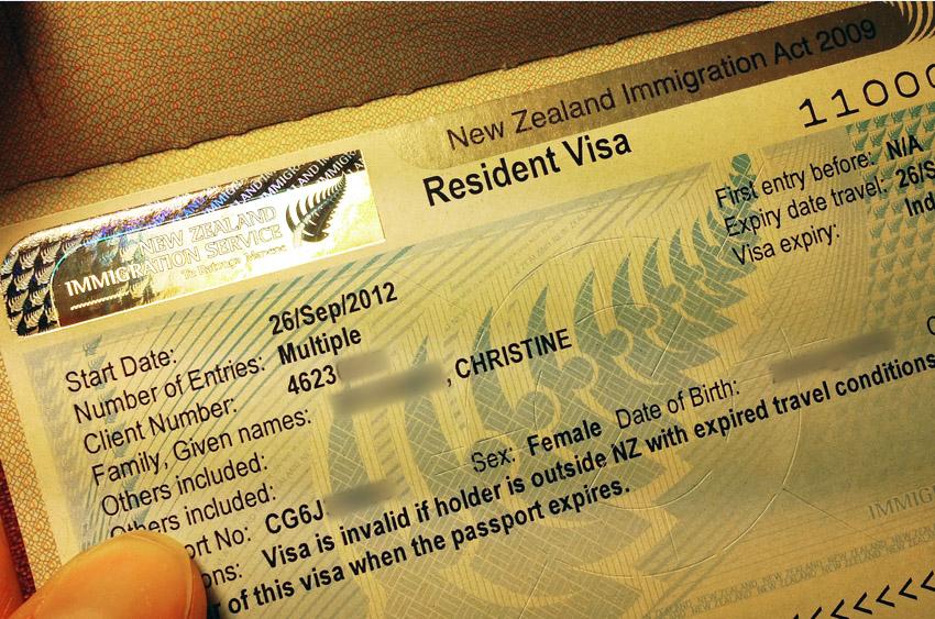 neuseeländisches Resident Visa