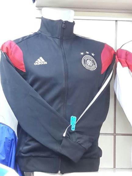 Jual Jaket Jerman Hitam Merah Terbaru 2014