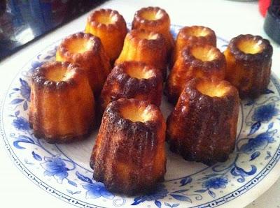 Cannelés de Bordeaux à la vanille et combava