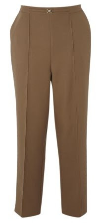 Matalan Tan Slim Leg Snaffle Trousers