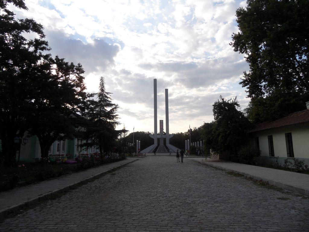 Trakya Üniversitesinde Lozan Anıtı