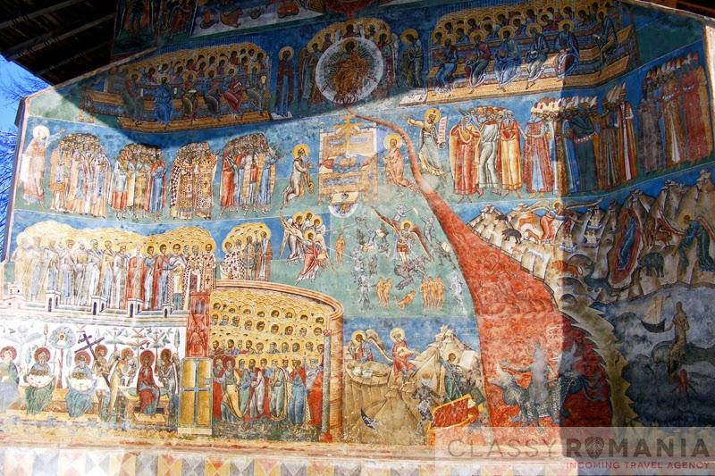 scena judecata de apoi manastirea voronet