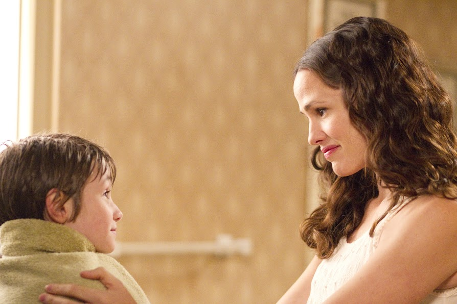Jennifer Garner and CJ Adams in The Odd Life of Timothy Green