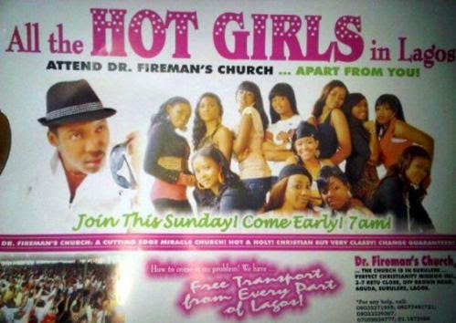Signs And Miracles In Pastor Sign Fireman Church Fake Or Real