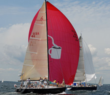 J/120 sailing Buzzards Bay regatta