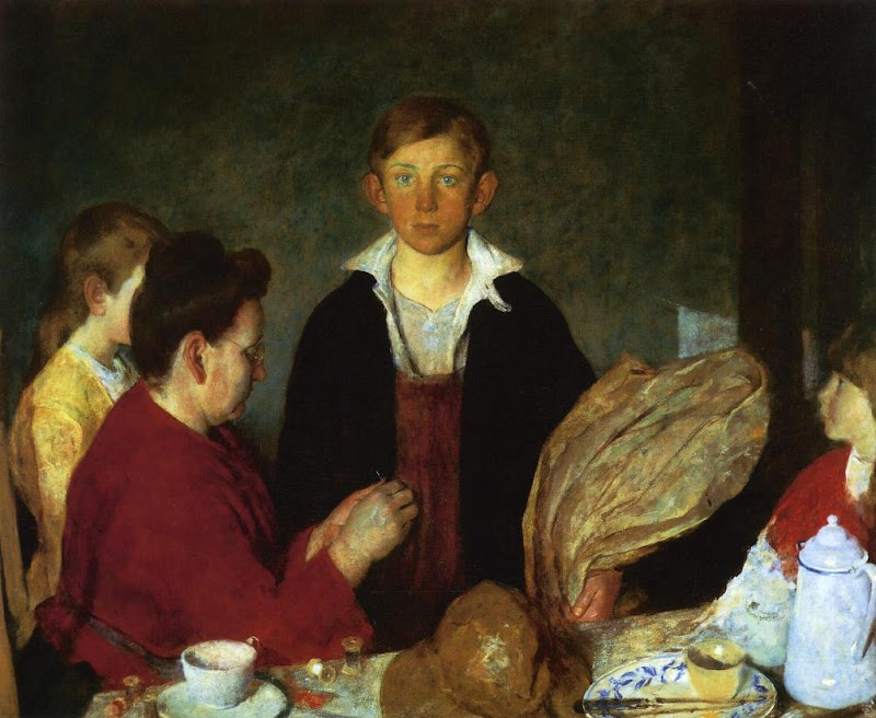 Charles Webster Hawthorne - The Fisher Boy