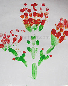 Fingerprint/Thumbprint Indian Paintbrush