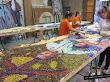 Cómo se hace el tapiz para la Virgen